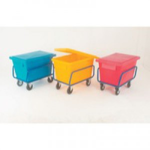 Poly Lid for SCT1 Truck/SSB Bin Red 326066
