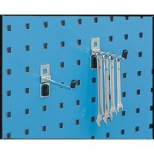 Single Tool Hook 6x100mm Pack of 5 Zinc 306968
