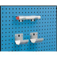 Image for Grey Bracket Pipe 60x100mm Pk2