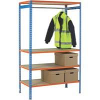 Image for Simonclick Garment Unit Extra Shelf Orange 378927