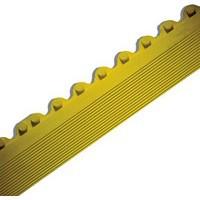 Image for All-Purpose Anti-Fatigue Modular Mat Male Bevel Yellow 312411
