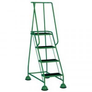 VFM 4-Tread Step Green 385140