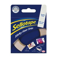 Sellotape Sticky Fixers Strip 25mm x3 Metres 484330