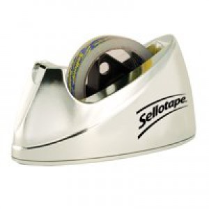 Sellotape Dispenser Chrome Large 4640 575450
