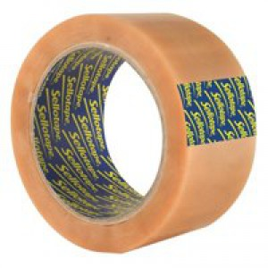 Sellotape Case Sealing Tape Clear 50mm x66 Metres 484388