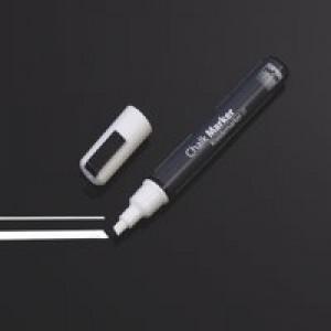 Sigel Chalk Marker 50 Chisel Tip 1-5mm White