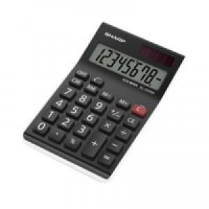 Sharp Desk Calc Blk El310Anwh