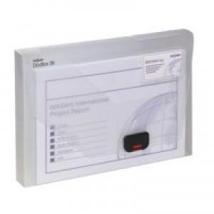 Snopake DocBox 35mm Capacity A4 Clear 12861