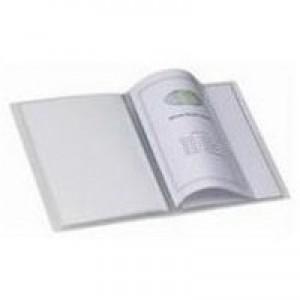 Snopake Superline Presentation Book A5 20-Pocket Polypropylene Clear 11941