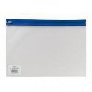 Snopake Zippa-Bag A4 Plus Plus Assorted Pk 25 12821