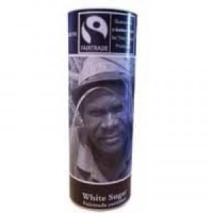 Fairtrade White Sugar Cannister A03642