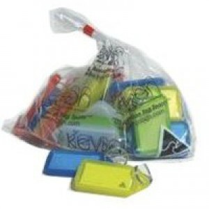 Kevron Plastic Clicktag Key Tag Giant Assorted Pack of 25 ID30AC25