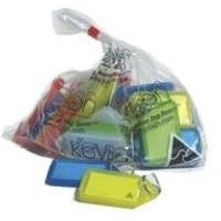 Kevron Plastic Clicktag Key Tag Giant Assorted Pk 25 Id30Ac25