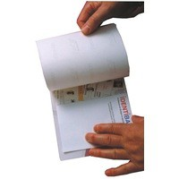 Image for Identibadge Self-Seal Laminating Card A7 Pack of 50 SSC7