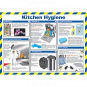 General Sign 420x590mm Kitchen Hygiene FA607