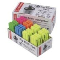 Stabilo Boss Highlighter Assorted Pk 48 70/48-1