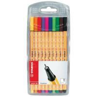 Image for Stabilo Assorted Point 88 Fineliner Pens (Wallet of 15) UK12/110-8810885
