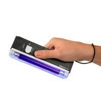 Safescan 40H Note Checker Hand-held 4W UV and LED Torch White Ref 130-0444