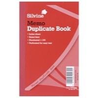 Image for Silvine Duplicate Book 152x102mm Memo Ruled Pk12 600