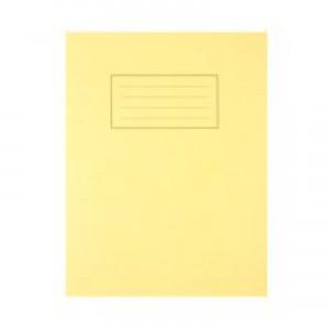 Silvine 9 x 7 Exercise Books Feint and Margin Yellow EX103