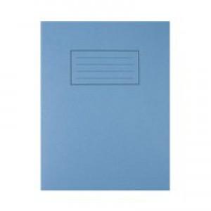 Silvine 9x7 Exer Book 80pp Ftm Blue