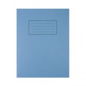 Silvine 9 x 7 Exercise Books 7mm Squares Blue EX106