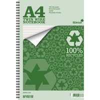 Silvine A4+ Everyday Recycled Wiro Notebook TWRE80