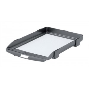 Rexel Agenda 35 Letter Tray 35mm Deep Charcoal Code 25200