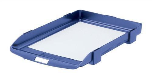 Twinlock 35 Letter Tray Blue 25201