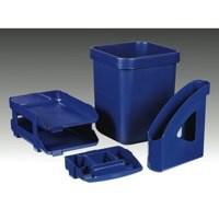 Twinlock Letter Tray Blue 25207