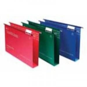Twinlock Crystalfile Suspension File Foolscap 50mm Capacity Red Box 50 Code 71752