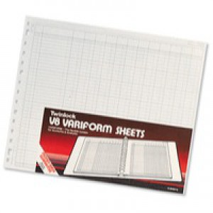 Twinlock V8 Variform 14 Column Cash Sheets 80gsm Ref 75984 [Pack 75]