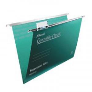 TwinLock Crystalfiles Green 78046 Pk50