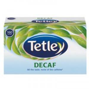 Tetley Decafe Pk160 5001