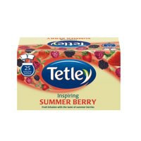 Tetley Summer Berry Drawstring Envelope Tea Bag Pack of 25 1291