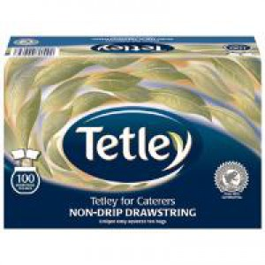 Tetley Drawstring Tea Bag Pack of 100 1050A