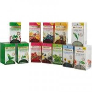 Twinings Herbal Infusion Tea Bag Variety Pk 12 Pks of 20 F08750