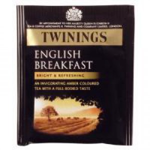 Twinings English Breakfast Envelope Tea Bag Pk 50 F09583