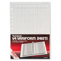 Twinlock Variform V4 4-Column Cash Refill 75930
