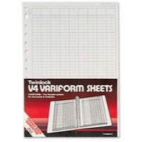 Twinlock Variform V4 5-Column Cash Refill 75931
