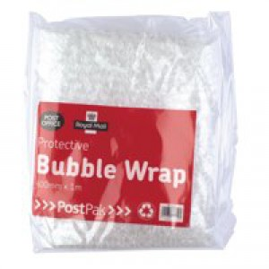 Own Brand Postpak Protective Bubble Wrap Flat Pack of 8 37728