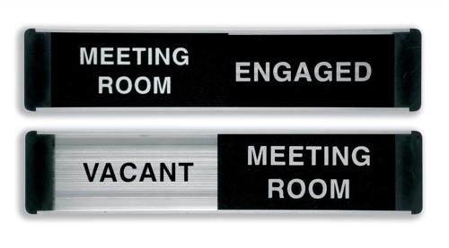 Stewart Superior Sliding Sign Free/Engaged/Meeting Room BA101