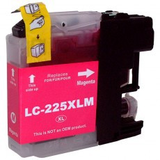 Brother LC225XL Magenta Remanufactured Cartridge