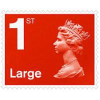 Image for 50 1ST CLASS LARGE LETTER STAMPS