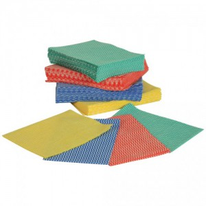 Disposable Wipes Green 36 x 50cm pk50