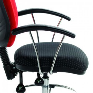 Chrome Fixed Arms for Mop, HOP, and DOP range of operators Chairs