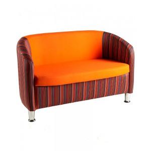 2 Seater Tub Chair: Choice of Fabrics