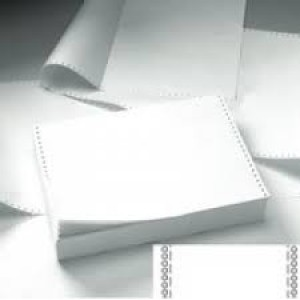 Image for 11x15 5/16  (11x389) Plain Listing Paper 60grm  pack of 2000 sheets