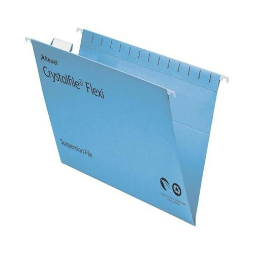 A4 Crystal File Flexi Standard Capacity Suspension Files