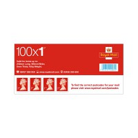 Image for 1st Class Sheet Of 100 Self Adhesive Stamps